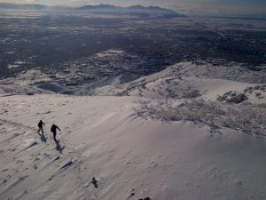 Mt. Wire with Mindy and Ryan - Jan 12, 2013