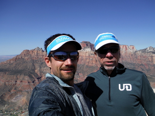 Buzz and I in Zion - March, 2014