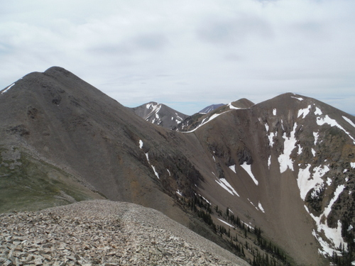 Mount Waas (12,331') (left)