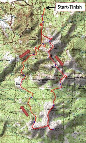 LaSal Linkup Loop - overview map