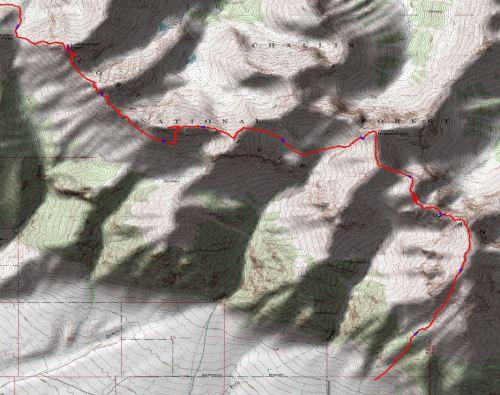 Lost River Range - Leatherman Pass to Lost River Peak