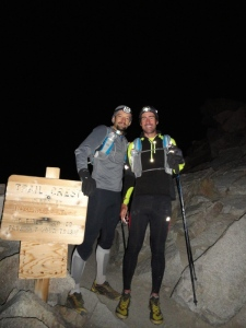 Ben and I near the summit of Mount Whitney